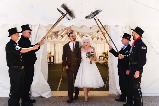 The luckiest bride in the world?