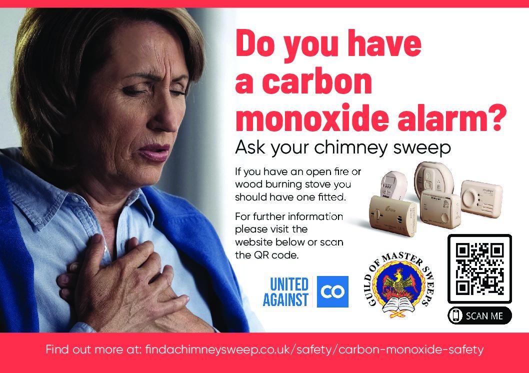 CO Flyer – 'Do you have a Carbon Monoxide alarm?'