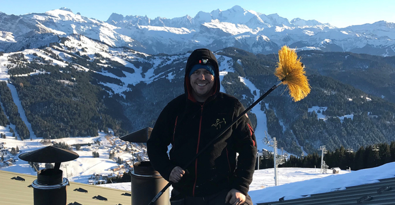 Sweeping at Altitude